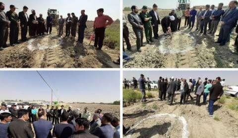 پروژه بازگشایی کمربندی شمال غرب شهر چناران آغاز شد.