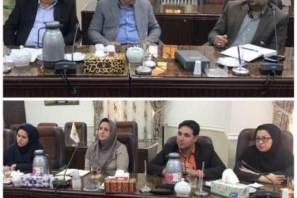 سومین جلسه درخصوص چگونگی ایجاد آزمایشگاه مرکزی در جهت توسعه و گسترش صنایع غذایی شهرستان دامغان