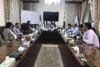 حضور آقای دکتر عالمی ریاست درمانگاه تامین اجتماعی دامغان در جلسه شورای اسلامی شهر
