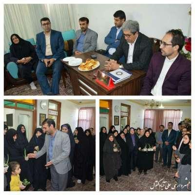 حضور شهردار و اعضای شورای اسلامی شهر در