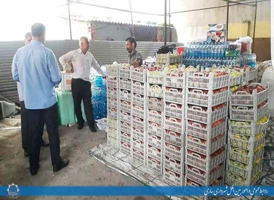 تهیه و ارسال بخشی از اقلام مورد نیاز جهت پذیرایی از زائران اربعین حسینی