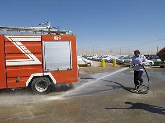 پارکینگ های مهران آماده خدمات رسانی به زائران اربعین هستند