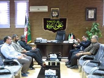 نشست مشترک شهردار مهران با شهرداری معین  اراک ستاد اربعین حسینی(ع)