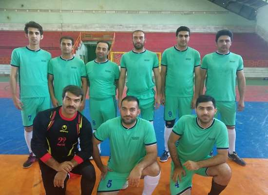 کسب عنوان قهرمانی تیم فوتسال امور آبفای اشنویه در مسابقات گرامیداشت هفته دفاع مقدس