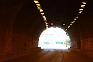 انسداد تونل حیران در محور اردبیل به آستارا