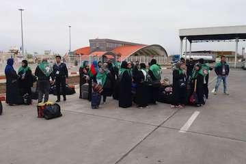 ورود ۸۰۰ زائر اتباع خارجی به ایران از  پایانه مرزی بیله سوار