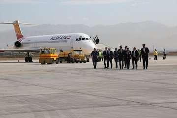 نخستین پرواز کیش به کرج در فرودگاه پیام به زمین نشست