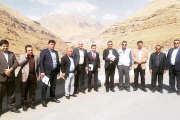 بازدید قائممقام وزیر حملونقل تاجیکستان از منطقه یک آزادراه تهران-شمال/ صدور خدمات فنی به تاجیکستان