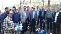 افتتاح طرح آبرسانی به روستای چاكل شهرستان رودسر