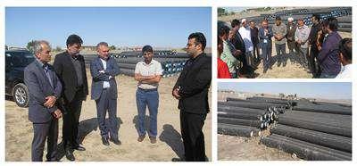 آغاز عملیات اجرای 36 كیلومتر خط انتقال آب برای روستاهای فاقد آب شرب شهرستان كلاله