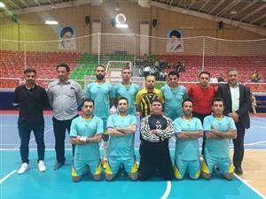 قهرمانی تیم فوتسال بسیج در مسابقات هقته دفاع مقدس