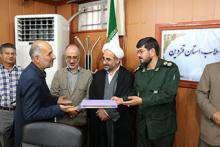 مراسم تجلیل از ایثارگران شرکت آبفای استان قزوین برگزار شد.
