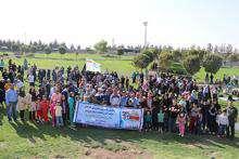 همایش پیاده روی خانوادگی کارکنان شرکت آبفای شهری و روستایی استان قزوین برگزار شد.
