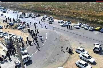 تردد بیش از ۴۰ هزار خودرو به سمت مرزهای شلمچه و چذابه/ حرکت زائران به مرزهای خوزستان رو به افزایش است