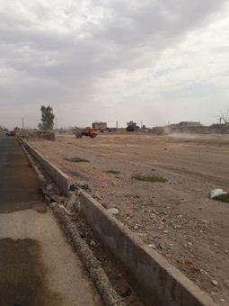 پاکسازی و نخاله برداری در سطح شهر مهران