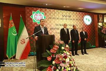 بیست و هشتمین سالگرد روز ملی ترکمنستان با حضور وزیر راه و شهرسازی برگزار شد