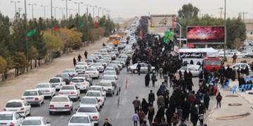 ترافیک نیمهسنگین در محورهای منتهی به مهران و چزابه/محدودیت تردد در جادههای شمال