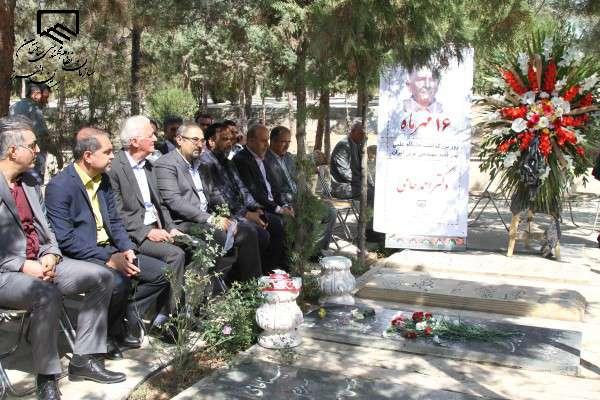 مراسم بزرگداشت استاد احمد حامی پدر مهندسی راه و ساختمان ایران برگزار شد