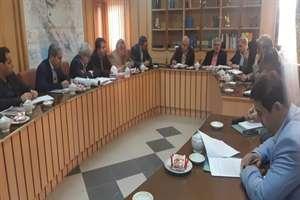 جلسه بررسی پروژه راه آهن رشت - بندر انزلی- آستارا برگزار شد