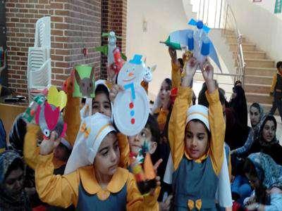 کارگاه آموزشی هنر باز آفرینی در خانه فرهنگ سنجیده قزوین برگزار شد