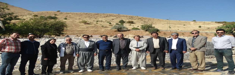 بازدید3ساعته اعضای شورای اسلامی شهر از فعالیت های عمرانی حوزه سیمامنظروفضای سبز شهری
