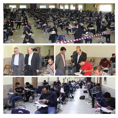 برگزاری اولین روز آزمون ورود به حرفه مهندسان - مهرماه 98