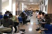 گزارش تصويري برگزاري آزمون ورود به حرفه مهندسان در خراسان شمالي پنجشنبه ١٨ مهر ماه ٩٨