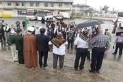 اعزام 56 نفر از بسیجیان و کارکنان راه و شهرسازی گیلان جهت شرکت در پیادهروی جهانی اربعین حسینی