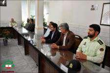 دیـدار با فرماندهی نیروی انتظامی نجف آباد