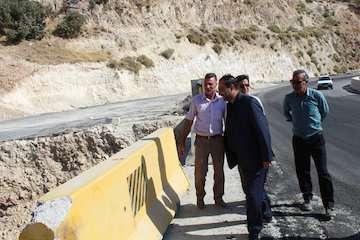 پل زیرگذر ارغوان شهر ایلام زیر بار ترافیک قرار گرفت