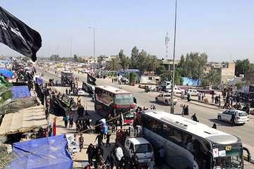 جابهجایی ۶ هزارنفر زائر اربعین حسینی استان اردبیل