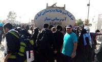 تانكرهای آبرسانی سیار شركت آبفار گیلان در مرز مهران مستقر شدند