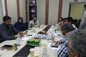 نشست کارگروه برگزاری نمایشگاه تخصصی پدافند غیر عامل هرمزگان برگزار شد