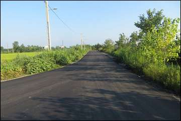 بهسازی و تعریض راه دسترسی به شهرک صنعتی شهرستان نوشهر
