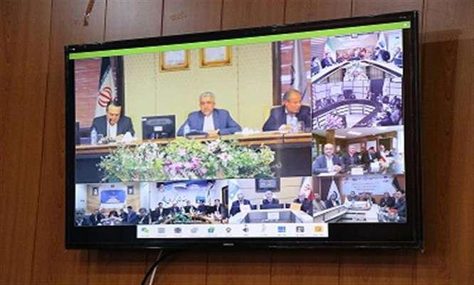 جلسه شورای هماهنگی مدیران صنعت آب و برق در شركت آب و فاضلاب شهری استان سمنان