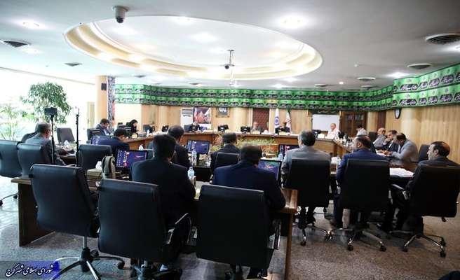 گزارش تصویری/صد و شصت و ششمین جلسه رسمی شورای شهر کرج