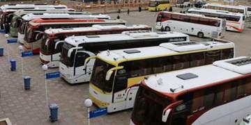 اتوبوسهای اعزامی به سفرهای اربعین از ۸۵۰۰ دستگاه فراتر رفت/زائران به تدریج برگردند