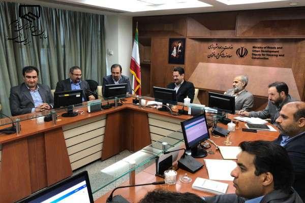 تشریح سامانه های الکترونیک سازمان در دیدار ریاست سازمان با مدیرکل دفتر مقررات ملی ساختمان