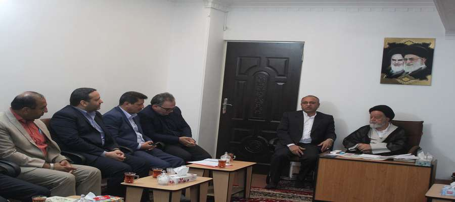 دیدار با نماینده ولی فقیه در استان و امام جمعه سمنان به مناسبت روز روستا و عشایر
