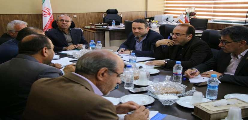 نهمین جلسه قرارگاه بازسازی و نوسازی مناطق آسیب دیده استان سمنان