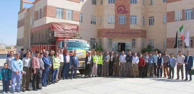 اعزام گروه عملیاتی شرکت توزیع نیروی برق خراسان جنوبی به کاظمین