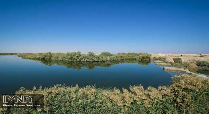 دو میلیون و ۲۴۱ هزار مترمکعب آب به تالاب بین المللی گاوخونی