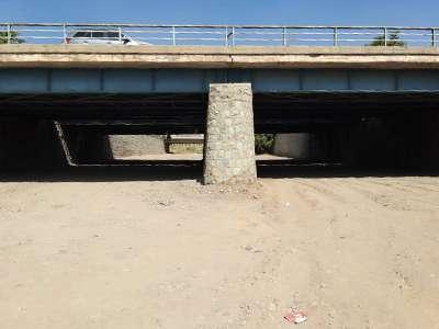 عملیات عمرانی مرمت و اصلاح پل رودخانه ای غدیر به پایان رسید