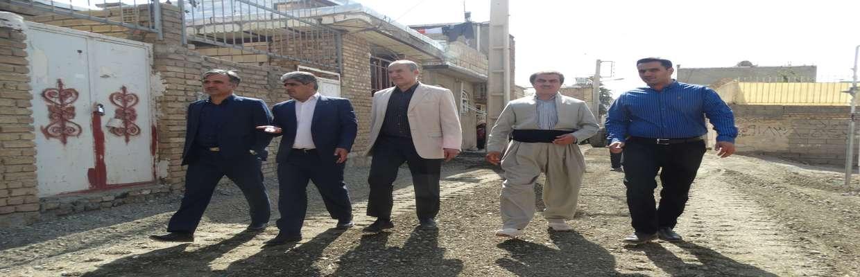 بازدید 2ساعته اعضاء شورای اسلامی شهر از گریزه و ناحیه منفصل شهری نایسر