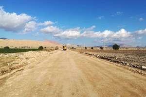 شروع  عملیات اجرایی راه روستایی چاه نهر - فدامی در قالب طرح ملی ابرار