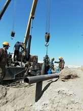 چاه جدید شهر ریگان در استان کرمان وارد مدار بهرهبرداری شد