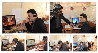 مدیرعامل شركت آبفار گلستان با حضور در سامانه سامد به تماس های تلفنی مردم پاسخ داد
