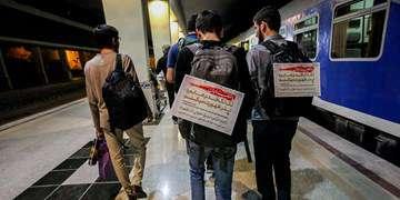 جزئیات اعزام قطار اربعین در ۱۰ مسیر ریلی/ جابهجایی بیش از ۱۳۰هزار زائر در ۷ روز