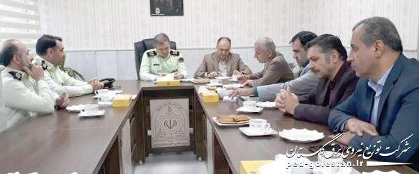 پیشگیری از سرقت تجهیزات و انرژی برق از اهداف مشترک پلیس...
