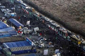 خروج بیش از ۳ میلیون زائر اربعین حسینی از مرزهای کشور / حدود ۲ میلیون پیامک به زائران ارسال شد/ بازگشت ۱ میلیون و ۷۰۰ هزار زائر به کشور در سه روز آینده